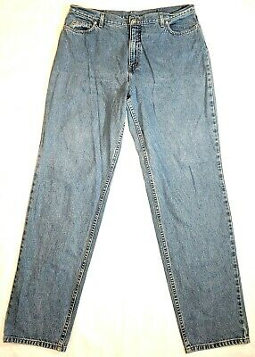 Lands End Jeans Womens Size 18T Tall Blue Denim High Rise Hiking Outdoor Pants  ()