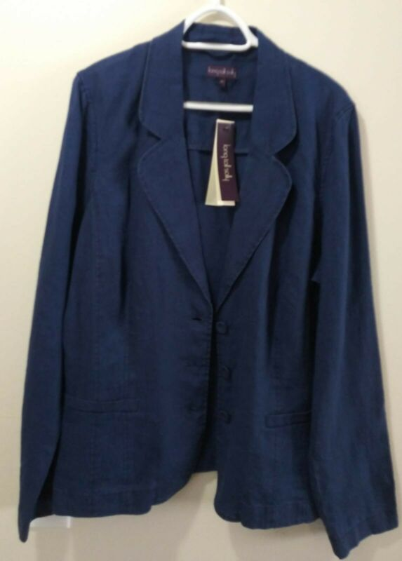 Valetta Linen BlueJacket