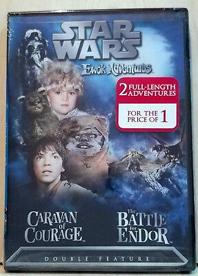 Star Wars Ewok Adventures  Caravan Of Courage  The Battle For Endor  Region 1
