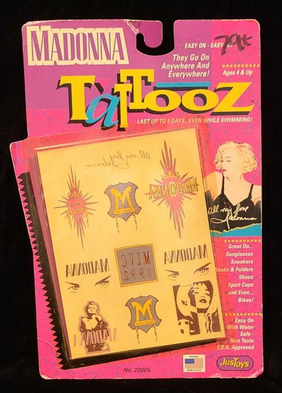 Madonna Tattooz~1991 Sealed Package of Temporary Tattoos