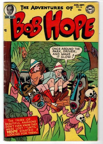 Adventures of Bob Hope #16 Very Good
