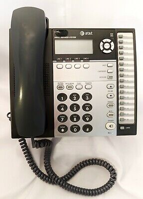 Att Model 1040 4-line Corded Office Business Phone Speakerphone Good Used Cond