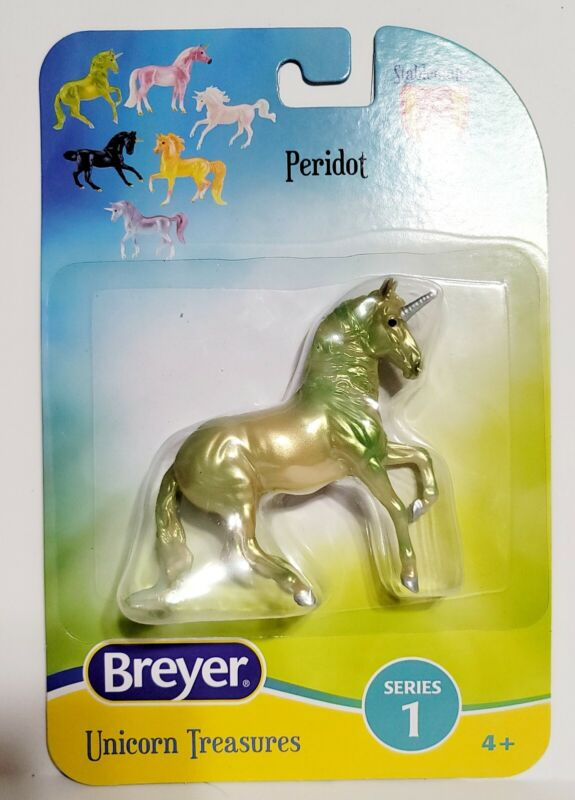 New for 2021 Breyer Stablemates Unicorn Treasures Peridot Alborozo