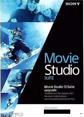 Sony Movie Studio 13 Suite For Video & Audio Editing Down...