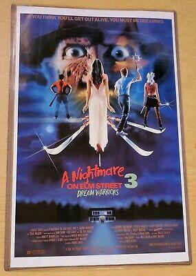 Nightmare on Elm Street 3 Dream Warriors Freddy Krueger 11X17 Movie Poster