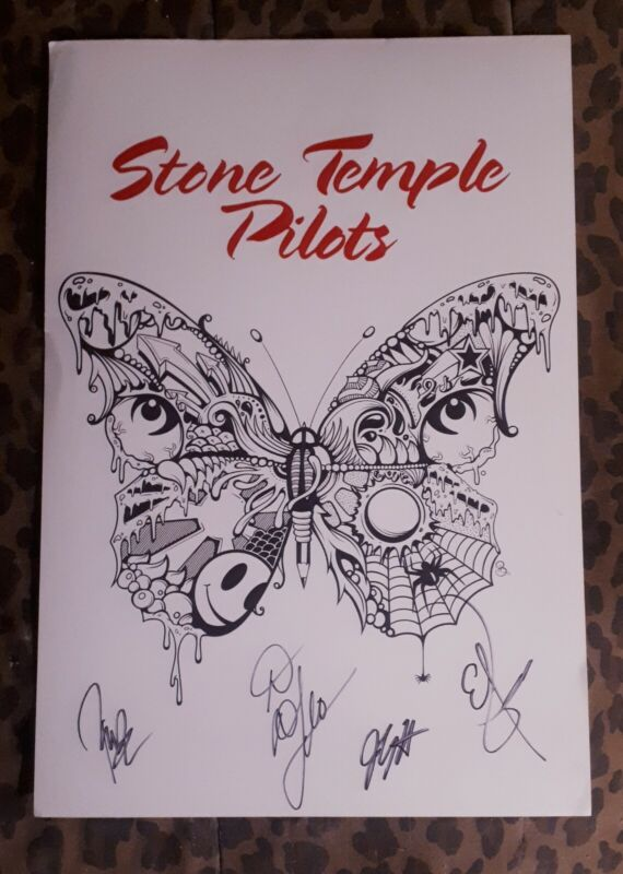 Stone Temple Pilots - STP Signed VIP 2019 Tour Package, with Proof
