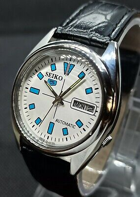 Vintage Seiko 5 Automatic Movement no.7009A Japan Made Men's Watch