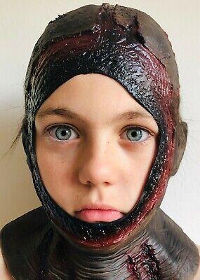 Kinder Verfaulendes Jason Blutig Kapuze Maske Latex Halloween Offen - Jason Kostüm Kinder