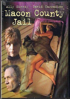 Macon County Jail  Dvd  2003  Ally Sheedy  David Carradine Brand New