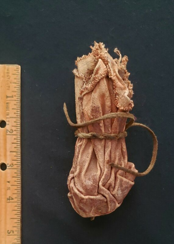 Native American Indian Medicine Pouch ,from Medicine Bag Parfleche, 19th Century