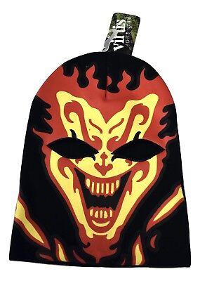 Virtis ICP Insane Clown Posse Jeckel Face One Size Beanie Ski Mask NWT
