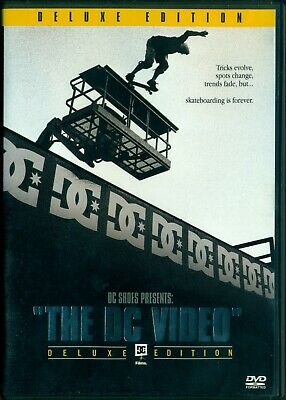 DVD TV SHOW The DC Video Deluxe Edition Skateboarding Best of All Time +