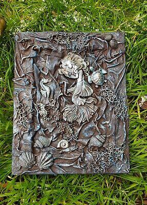 Handmade - Mermaid sea scene plaque