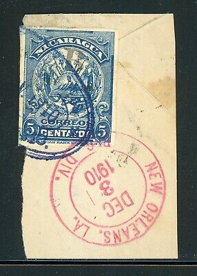Nicaragua Used Bluefields Specialized: Shortage LOT #1 Cut Square Used on Piece