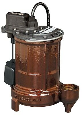 Liberty Pumps 257 13 Hp Cast Iron Sumpeffluent Pump
