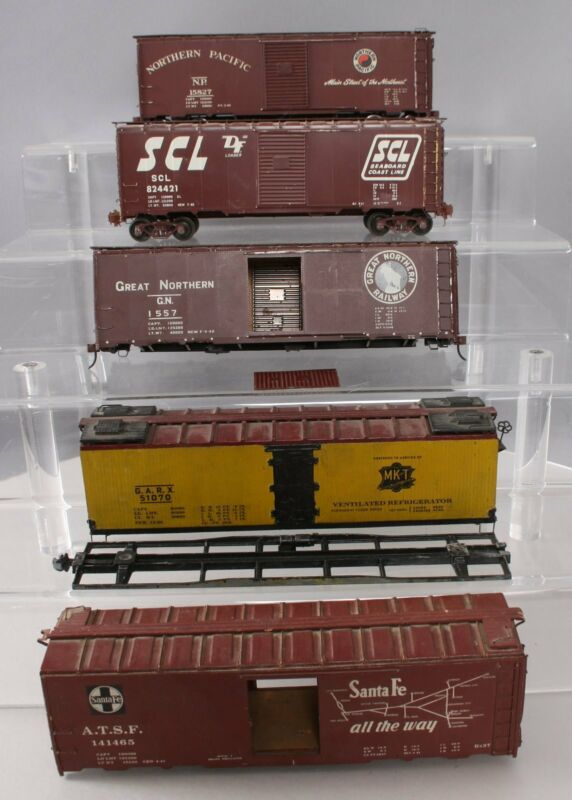 O Scale 2 Rail Assorted Freight Cars [5]
