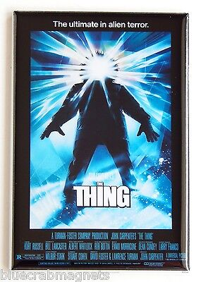 The Thing (1982) FRIDGE MAGNET (2 x 3 inches) movie poster kurt russell