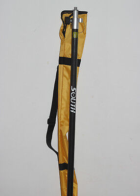 Telescopic Carbon Fiber Prism Gps Pole Total Station Surveying For South Topcon
