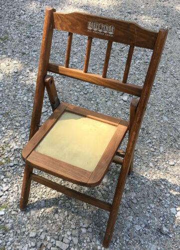 Babee Tenda Wood All Purpose Folding Chair child