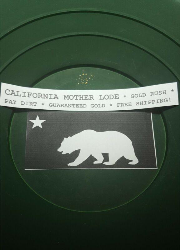 GOLD PAY DIRT * CALIFORNIA MOTHER LODE * GUARANTEED GOLD * 1 OZ ~ FREE SHIPPING!