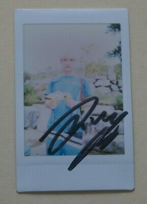 B1A4 MBC Program One Fine Day Event Official Signed Polaroid Photo JINYOUNG