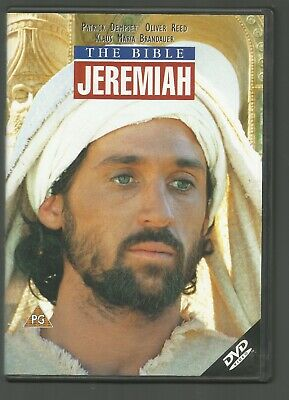 THE BIBLE - JEREMIAH - UK DVD - Patrick Dempsey / Oliver Reed