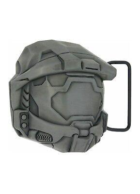 Halo Master Chief Helm (*RAR* HALO Gürtelschnalle Metall Master Chief Helm Merchandise lizenziert XBOX)