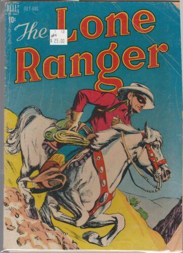1948 Dell TV comic, Lone Ranger #4