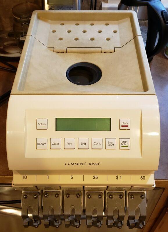 Cummins JetSort 1601 Coin Counter Sorter Money Counter