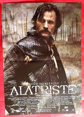 ALATRISTE - THE SPANISH MUSKETEER 2006 VIGGO MORTENSEN RARE SERBIAN MOVIE POSTER