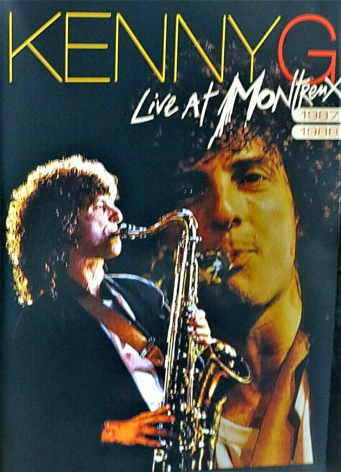 Kenny G Live Concert Montreux Jazz 1987,88 NEW! DVD,14 track