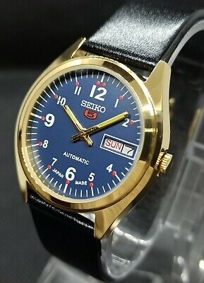 Vintage Seiko 5 Automatic Movement no 6309A Japan Made Men's Watch.