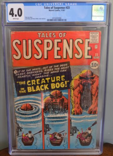 CGC 4.0 TALES OF SUSPENSE #23 (MARVEL, 1961) Jack Kirby and Steve Ditko cover.