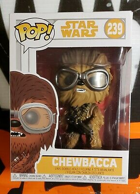 2016 Funko Pop! STAR WARS ** CHEWBACCA ** Flocked Vinyl Bobble-Head #63
