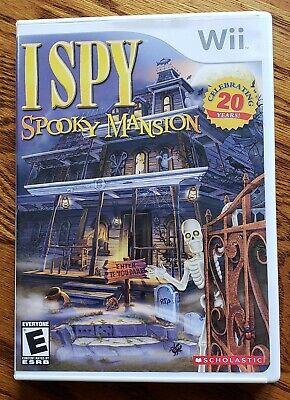 I Spy Spooky Mansion Nintendo Wii - Includes Disc, Case & Booklet!