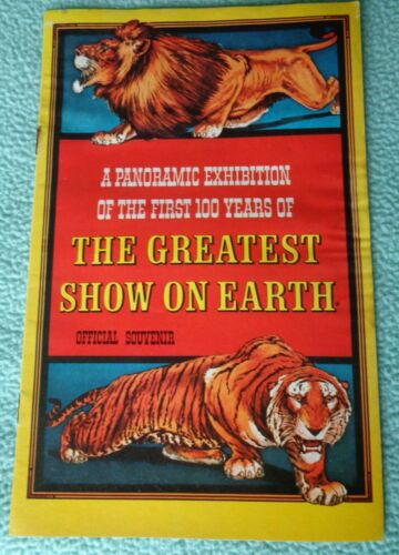 1970  Ringling Bros. and Barium & Bailey Circus Official Souvenir.100 Years