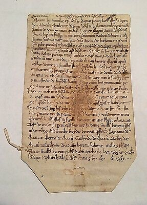 MEDIEVAL DOCUMENT 1230