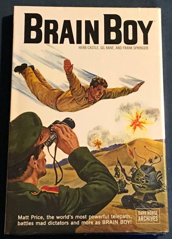 Brain Boy Comic Book Archives Hardcover w/ DJ Dark Horse  NMint  Still Sealed