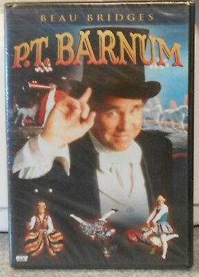 P T  Barnum  Dvd  2004  Very Rare 1999 Tv Drama Bio Beau Bridges Brand New