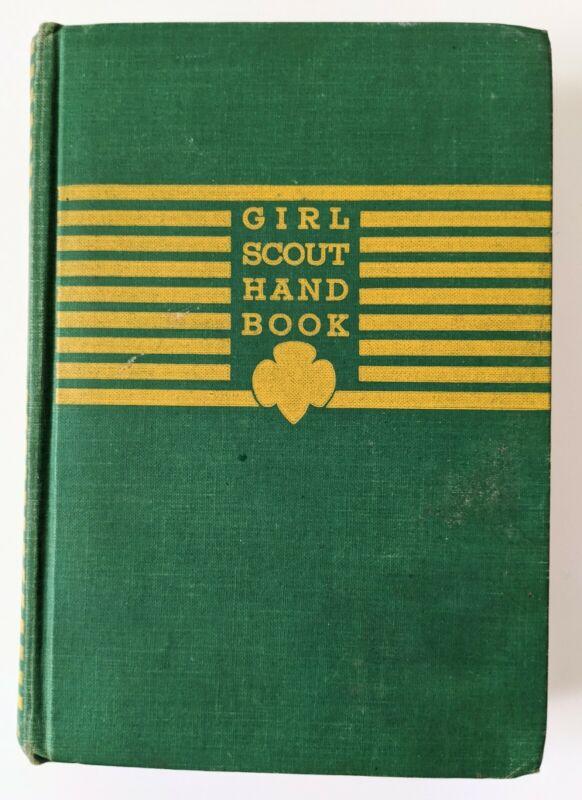 Antique Girl Scout Manual Book 1944, Intermediate Program