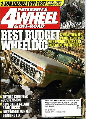 PETERSEN'S 4WHEEL & OFF-ROAD MAY 2008 BEST BUDGET WHEELING 1-TON DIESEL TOW