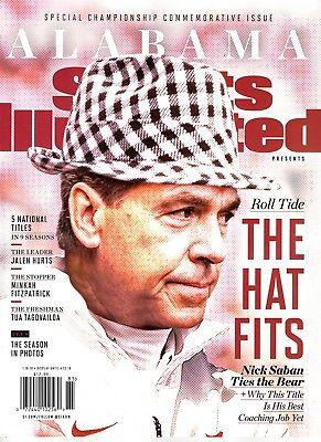 Sports Illustrated Magazine Commemorative 2017 Champions ALABAMA CRIMSON TIDE