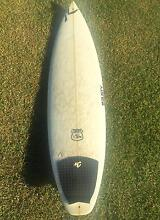 "6'5"" RUSTY Chevy shortboard Rocklea Brisbane South West Preview"
