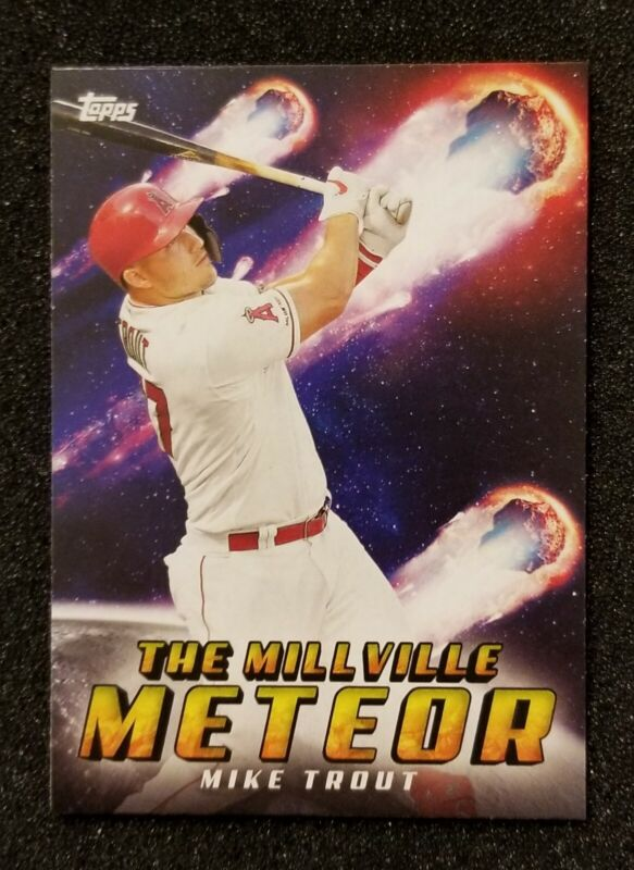 """Mike Trout Top Player 42/""""x24/"""" inch Poster 020"""
