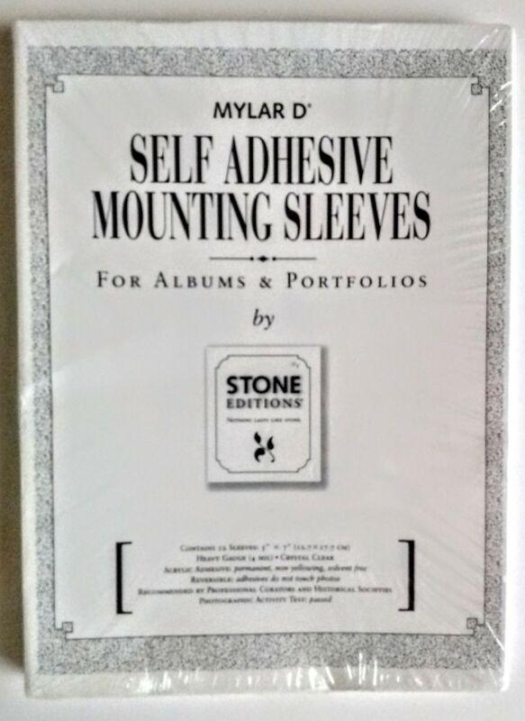 Mylar D* Self Adhesive Mounting Sheets