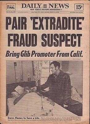 Daily News March 11 1972 Yogi Berra, Extradite Fraud Suspect 010917DBE
