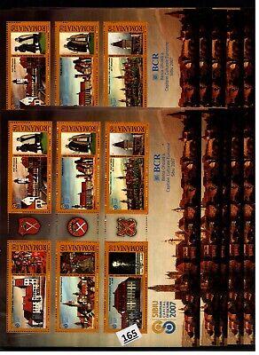 /// 10X ROMANIA - MNH - ARCHITECTURE - CASTLE - 2007 - EMBLEMS