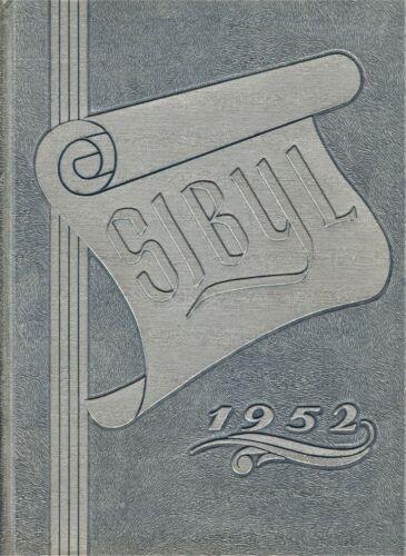 "1952 ""Sibyl"" - Otterbein College Yearbook - Westerville, Ohio"