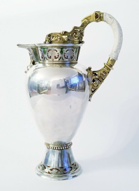 Superb French Sterling Silver J.Puiforcat Water Pitcher
