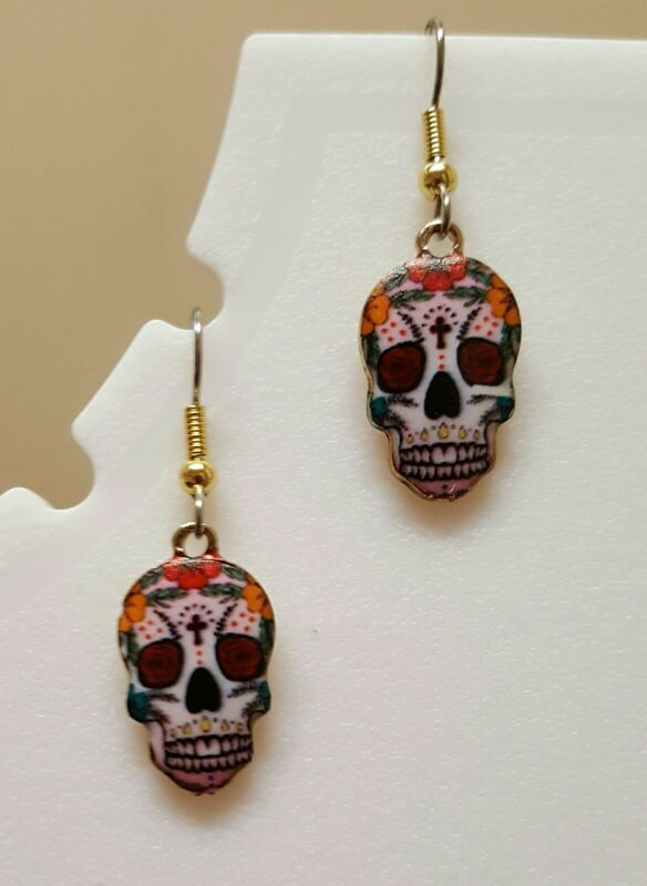 Dia de los Muertos Dangle earrings